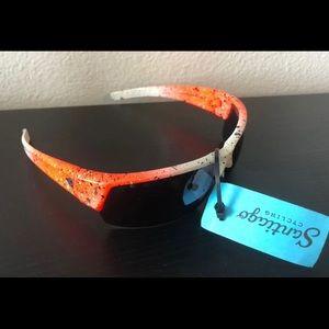 Ryders Eyewear Orange Cycling Glass